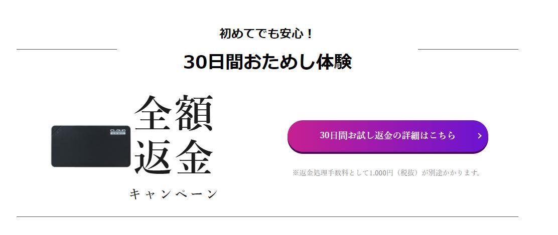 30日キャンペーン